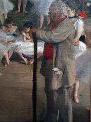 Degas Dance Lesson detail with Teacher
