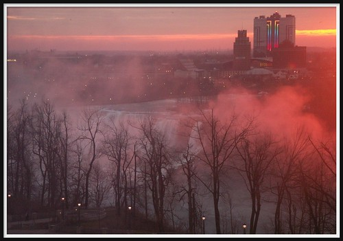 Early morning mist (Niagara Falls)