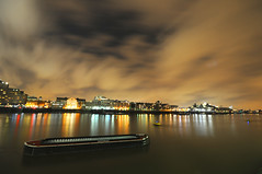 long night exposures on the Thames (5ERG10) Tags: city uk longexposure england sky cold london sergio thames night clouds towerbridge reflections londonbridge river lights nikon colours riverside tripod southbank wharf butlers towerhill d300 sigma1020 nohdr amiti 5erg10 sergioamiti
