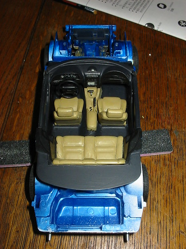 Tamiya Mustang GT Interior