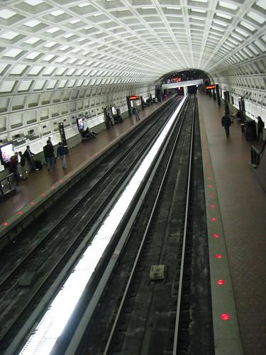 Metro Station 12:30 am
