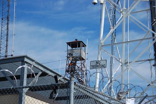 Paris Mountain Lookout Tower Hazards