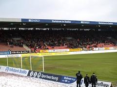 Eintracht Braunschweig, Kickers Offenbach, SpVgg Unterhaching, VfR Aalen, Rot-Weiss Ahlen, SV Sandhausen, FC Bayern München, Werder Bremen