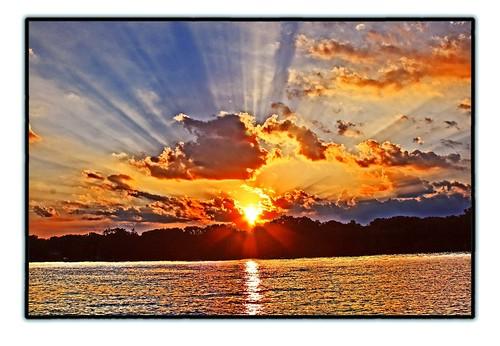 Ray of Light - Sunset