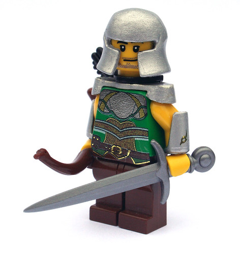 White Mantle custom minifig