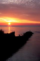 Il pescatore solitario (danykingsize www.dyfoto.com) Tags: 09 feb lungomare lt sabaudia