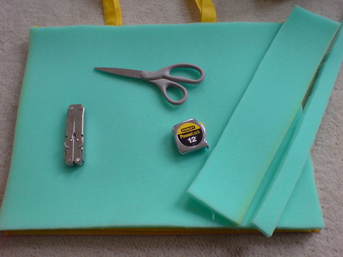 Step 2: DIY NRA totebag - to - changing pad
