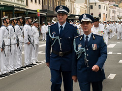 Top cops (miltonmic) Tags: uniform au navy sydney sailors police australia parade newsouthwales ran policeman e510 cityofsydney royalaustraliannavy nswpolice freedomofentry olympuse510 miltonmic andrewscipione upcoming:event=2134858 commissionerofpolice