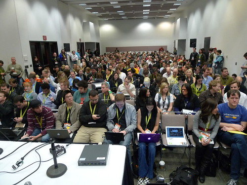 Facebook panel is packed
