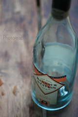 136/365: Wine is bottled poetry. ({ Amy }) Tags: blue white macro glass bottle wine drink empty container liquid moscato banrockstation amysimonsphotography theyreallowedtocausetheyreover18 itwasdadmumandvickiewhodrankthewineionlyhadasip yesyesiwouldntwantawhoheglassanyway