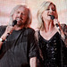 Barry Gibb and Olivia Newton-John