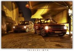 RRS HST & RR Sport (Talal Al-Mtn) Tags: sport rr rover super motor kuwait range 2009 talal q8 charged hst kwt   almtn