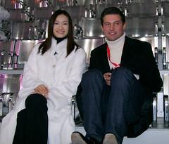 Shizuka Arakawa 荒川 静香 and Nikolai Morozov