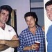 Tom Fahey, Mal and Dean hanging out at the DGA office.  John is not convinced of Fahey's last explanation - May 1992