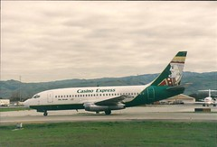 Casino Express Airlines (LeafsHockeyFan) Tags: airplane jet airline sjc 737 kingofdiamonds casinoexpress n456tm