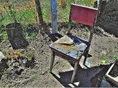 silla vieja (Jaime Herrera Espinosa) Tags: old chair empty vieja silla photomatix
