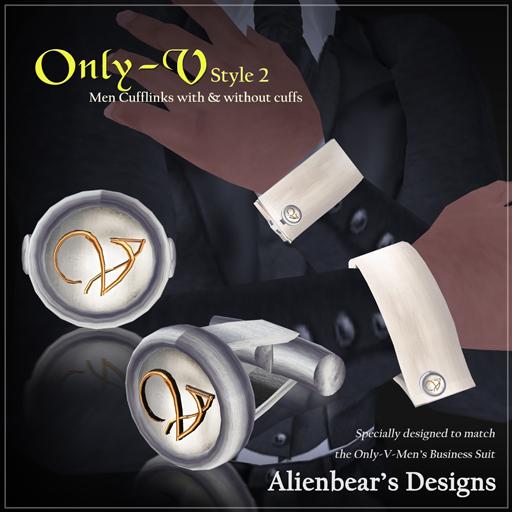 Only-V style2 cufflinks