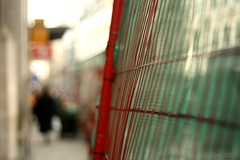 Guess Where (in London)?   Difficulty Level:  High (_nejire_) Tags: uk red england people blur green london station canon fence eos kiss dof bokeh britain competition guesswhere roadwork cityoflondon 940am ludgatehill canonef50mmf18ii 10faves hbw nejire 400d eos400d canoneos400d kissx fave10 bokehwednesday mhashi spudisawinner thestationiscitythameslink