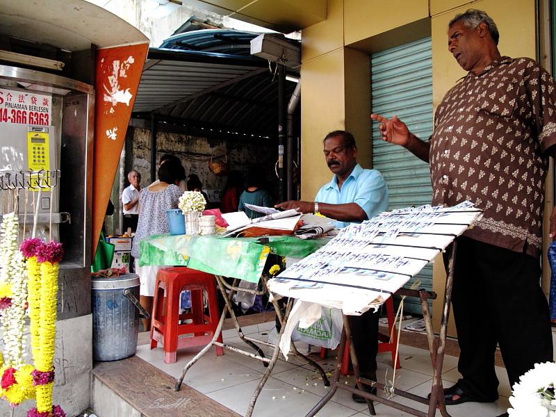 WalkWay Vendor @ KL, Malaysia