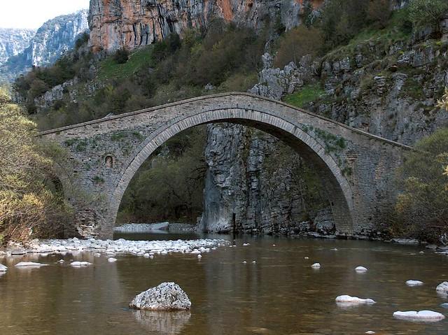 Ήπειρος - Ιωάννινα - Δήμος Κεντρικού Ζαγορίου Γεφύρι Μίσιου 1748, Βίτσα