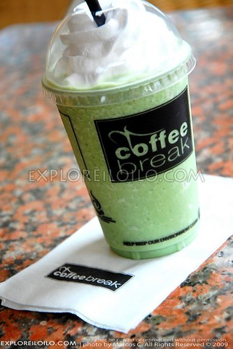 Green Tea Frappe at Coffee Break
