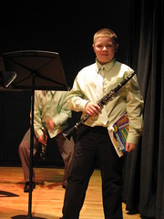 """That's my son""! (JustScrappinHappy) Tags: school fun concert 1st band andrew myson clarinet momme allthingsfun torringford"