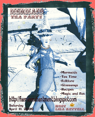 Mermaid Tea Party! Blog Event!