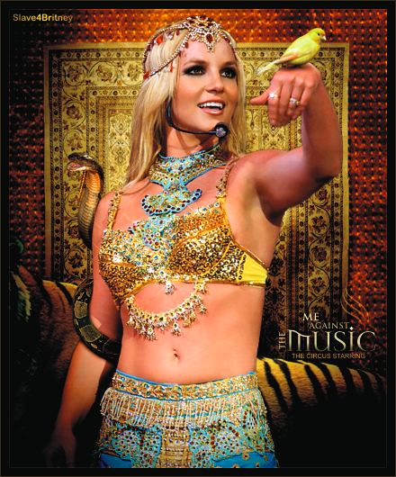 Britney Spears [ Me Against The Music - Circus Starring Tour ]