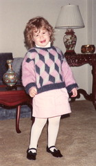 Handknit Sweater (diamondboa) Tags: family sweater knitting handmade handknit lindsay mohair