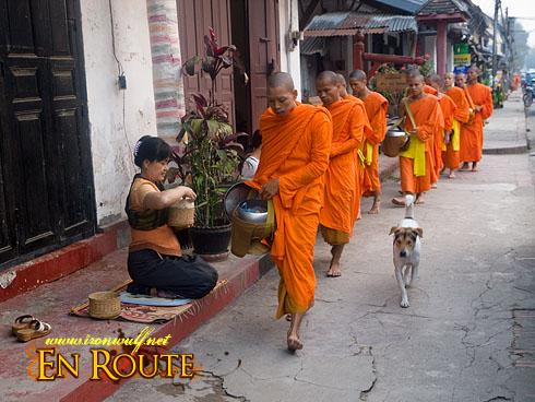 Luang Prabang Monk's Morning Alms