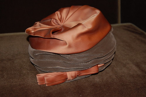 Silk and Velvet Hat