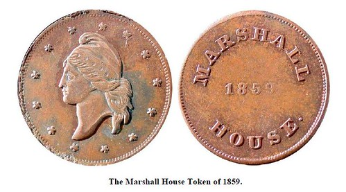 Marshall House token