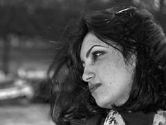 (Wanderer Eye) Tags: portrait bw girl vertical horizontal blackwhite nikon gloomy streetportrait dreary nb triste streetphoto breeze fille depth hossein tristesse armenian d300 profondeur gloominess brise mansouri contreplongé arménienne