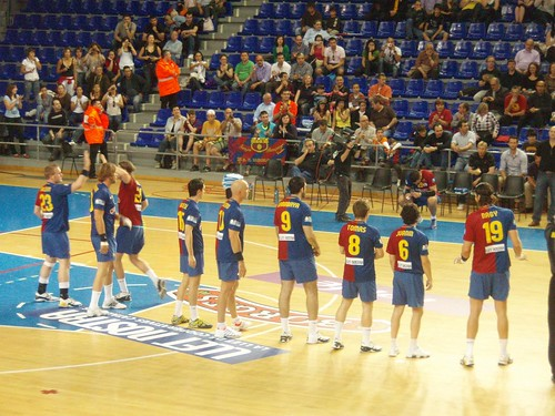 barcelona team 2009. F.C.Barcelona team (2.05.2009)
