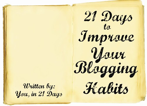 21 Days to Improve Your Blogging Habits Book