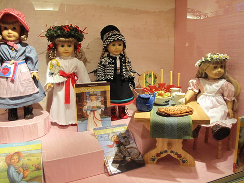 Dolls at American Girl Place - Chicago