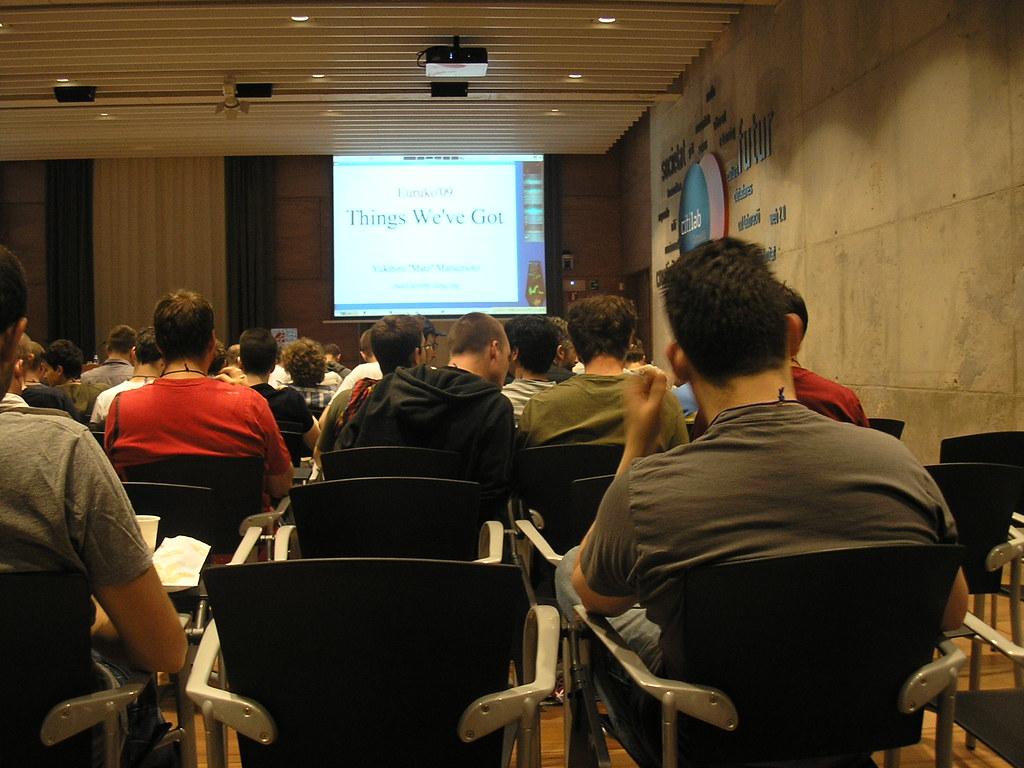 Primera charla: Matz y lo que tenemos