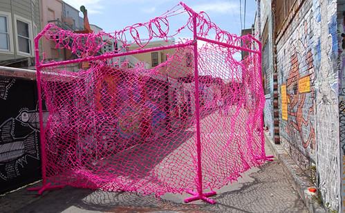 Lacey Jane Roberts Pink Fence