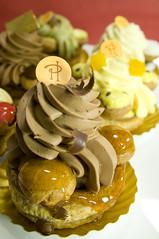 Saint-Honoré au Chocolat Poires, Ô Saint-Honoré!, Pierre Hermé Paris, Shinjuku Isetan