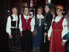 Nordic Women in National Costumes (Eileen Sandá) Tags: june norway finland island iceland costume women dress national conference nordic 2008 ísland island2008 nafndiceland nafndfinland nafndnorway