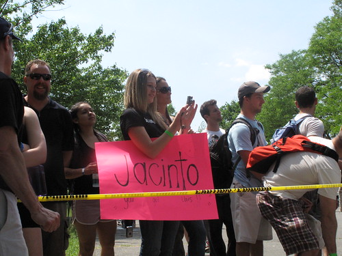 Erica shows some love for Jacinto!