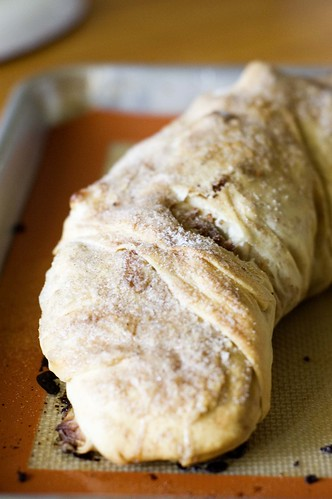 apple strudel - complete