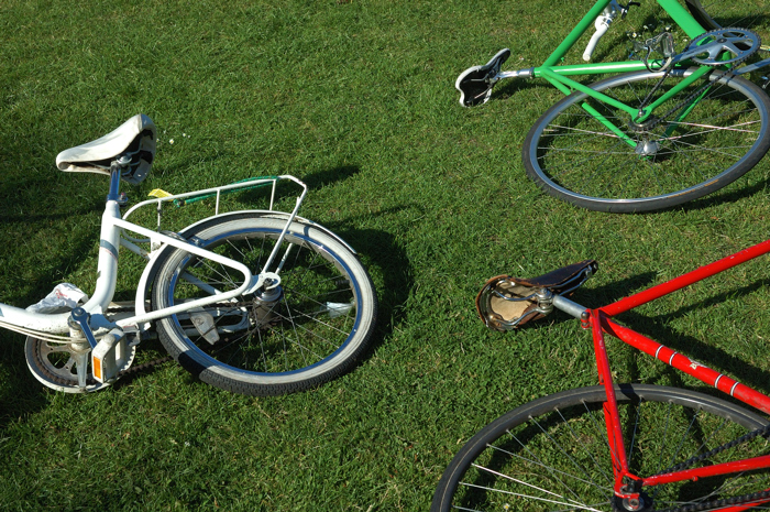 The Trilogy of bikes:: Click for previous