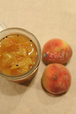 肉豆蔻茶香甜桃奇異果果醬