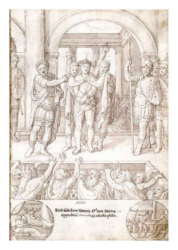 013- Jesus condenado por el pueblo-De Aetatibus Mundi Imagines