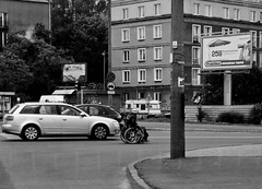 contest (Daniel Kulinski) Tags: auto street camera city test house building car wall by digital work myself lens grey town photo call close angle near unique district daniel report wheelchair gray wide captured may picture first samsung poland just warsaw almost civic borough 24 hd 24mm coverage did 2009 section dusky dull 1000 thousand province compact drab nigh reportage precinct within nearly ashy thereabout municipality mokotow nearby wideanglelens practically disable ashen amoled didmyself tl320 samsungimaging wb1000 hardby nearupon gettypoland1