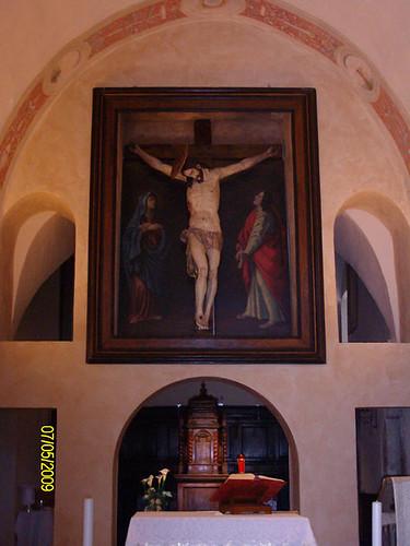 Dipinto Crocifisso - Santuario dello Speco
