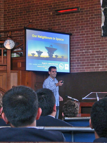 Talk in Redeemer Baptist School (North Parramatta, Sydney) on 9 June 2009.
