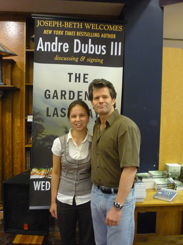 Andre Dubus reading 003