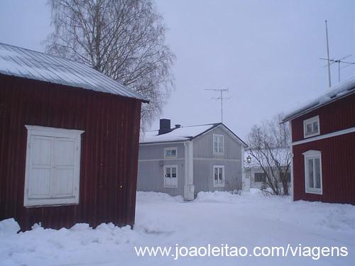 Aldeia paroquial de Gammelstad Suécia